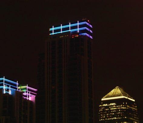 Artistic Licence lighting control at The Pan Peninsula