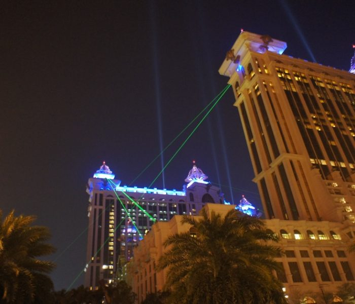 Artistic Licence lighting control at Galaxy Macau