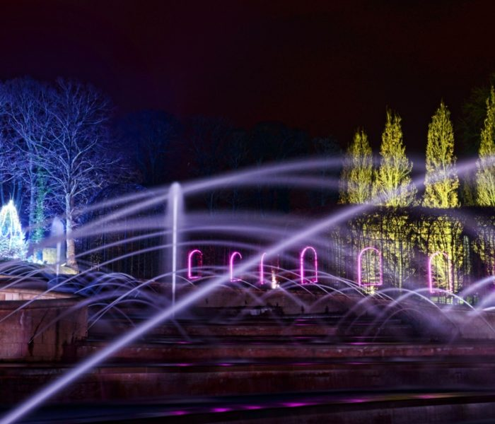 Artistic Licence lighting control at The Alnwick Garden