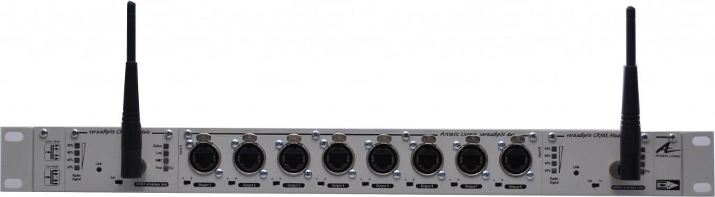 versaSplit duo with twin radio modules straight