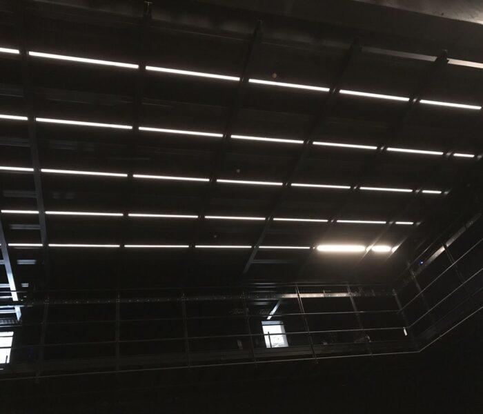 ENB studio area house lighting